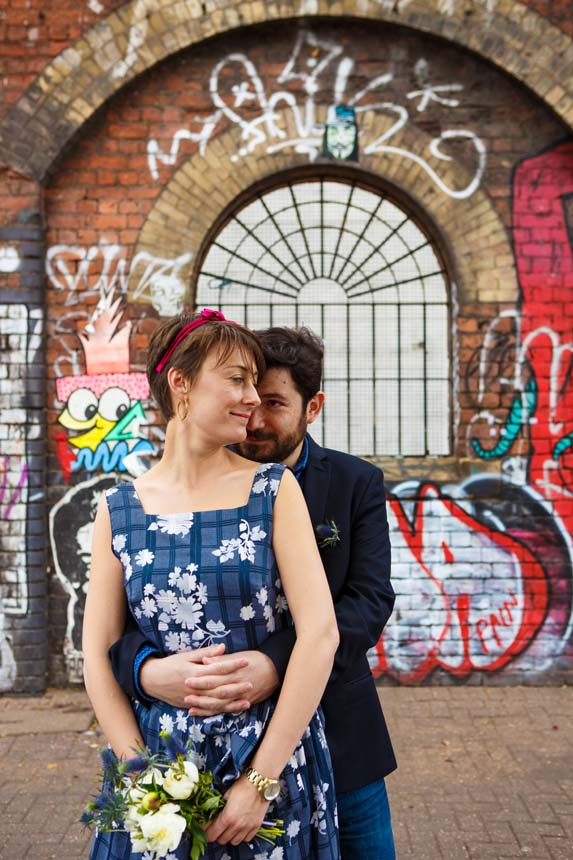 Urban wedding Portraits