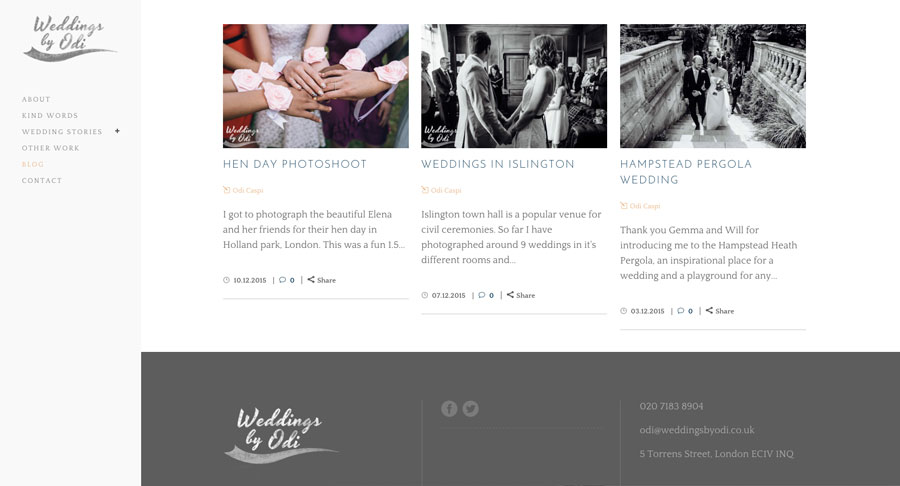 Recommended wedding photographer