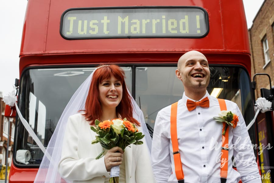 London documentary wedding