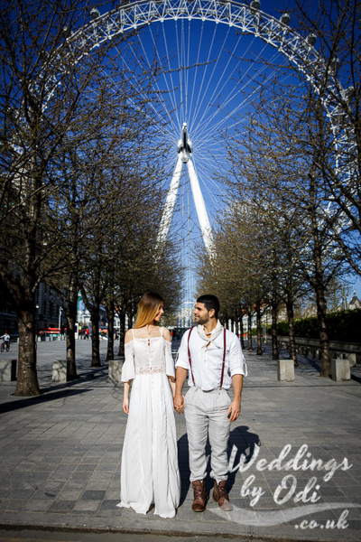 Fashion Portraits London for couples and individuals.